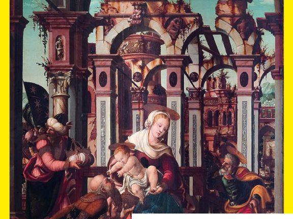 Anbetung der Heiligen Drei Könige, Detail aus dem Dreikönigsaltar von Bartlme Dill Riemenschneider, 1545 Foto: Hofburg Brixen)